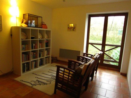 Normandy Inn :                   Reading / social area upstairs