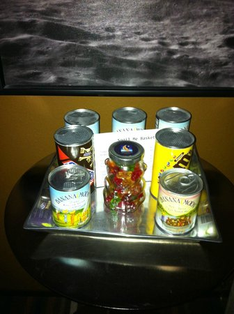 Moonrise Hotel:                   Room snacks