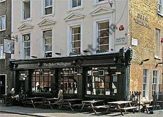 Duke Of Wellington London 94a Crawford St Marylebone