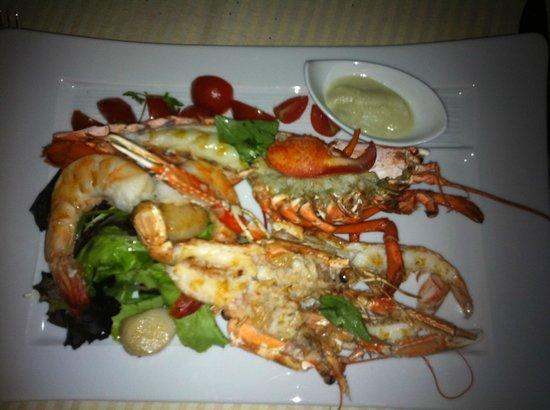 Hotel Principe Di Savoia:                   seafood plate