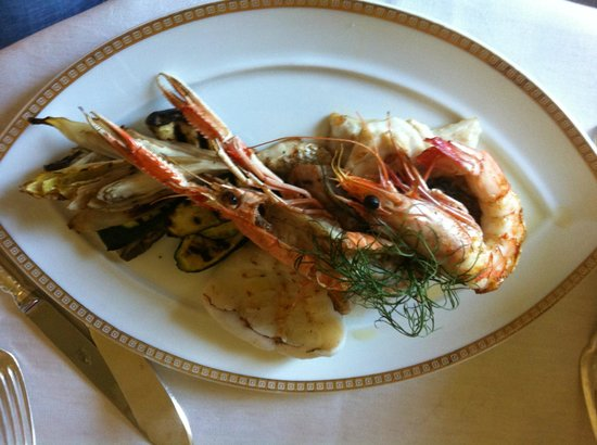 Hotel Principe Di Savoia:                   best sea food ever