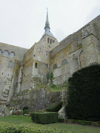 mont st michel picture of abbaye du mont saint michel mont saint michel tripadvisor. Black Bedroom Furniture Sets. Home Design Ideas