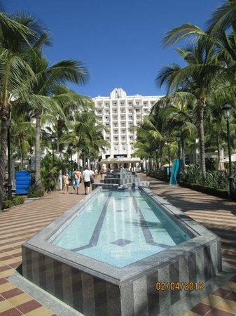 Hotel Riu Vallarta:                   wonderful grounds