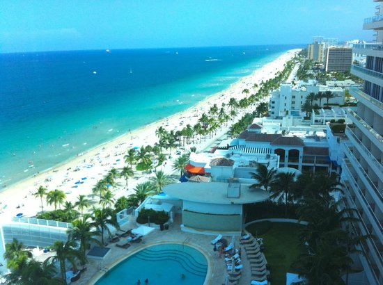 The Ritz-Carlton, Fort Lauderdale:                                                                         View from our room, Fort
