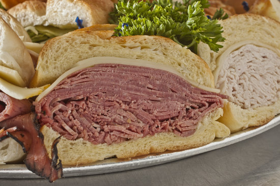 Brent's Delicatessen & Restaurant : Sandwich Tray - Catering