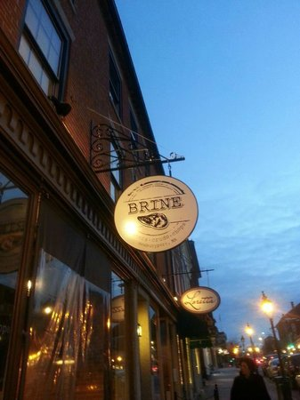 Brine: Sign is up and its official!