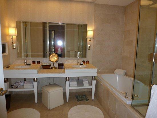 Wynn Las Vegas:                   Stunning bathroom