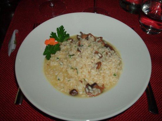 La Serenissima :                   Risoto com cogumelos