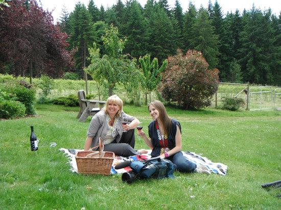 Rocky Creek Winery: Come and enjoy the view from our beautiful picnic area