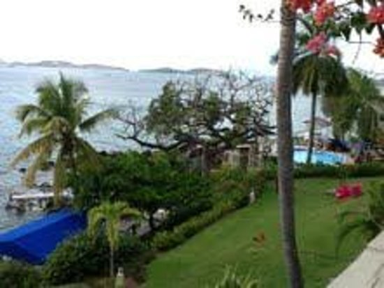 Gallows Point Resort:                   View from our terrace