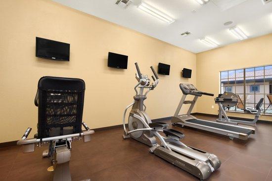 Microtel Inn & Suites by Wyndham Round Rock : Poolside Gym