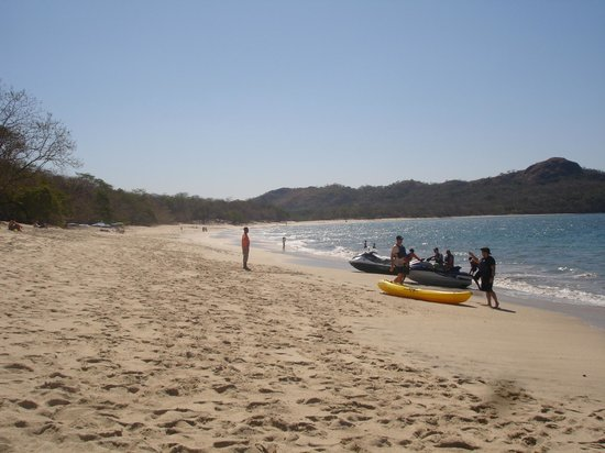 Playa Conchal: The beach