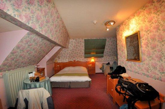 Bryghia Hotel :                   Habitación buhardilla