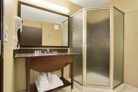 Microtel Inn & Suites by Wyndham Round Rock: Suite Bath