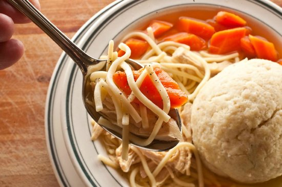 Brent's Delicatessen & Restaurant: Matzo Ball Soup