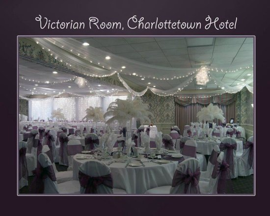 Rodd Charlottetown: Victorian Room wedding set up