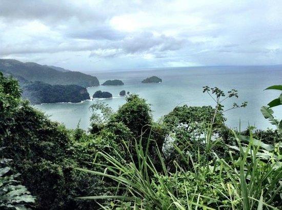 Maracas Bay:                   the drive
