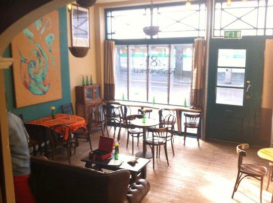 81 Renshaw:                   Cafe interior.