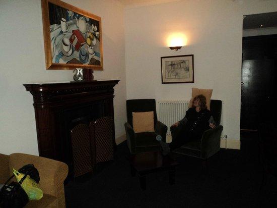 The Scotsman Hotel:                   Room