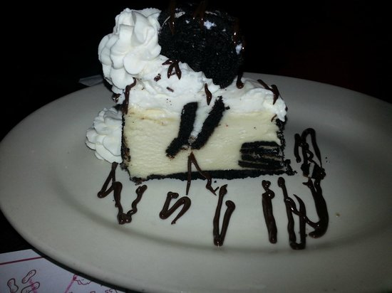 Copeland's Of New Orleans:                                     Cookies and Cream Cheesecake