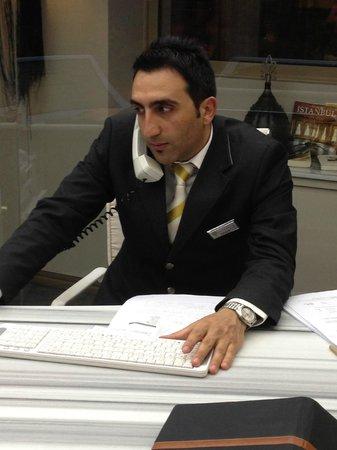 Hotel Sultania: RAMAZAN the receptionist