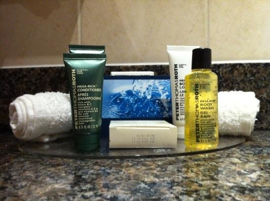 Hilton Bracknell:                   Toiletries