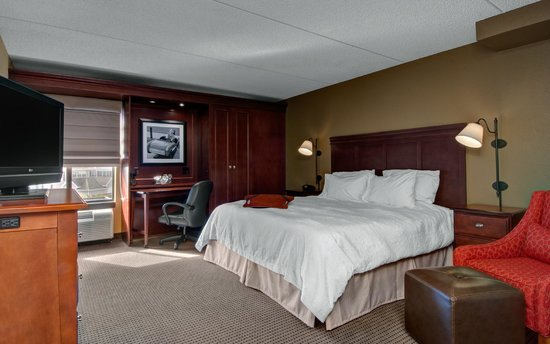 Hampton Inn Appleton-Fox River Mall Area: Accessible King Room