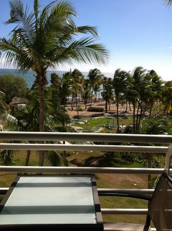 Hilton Ponce Golf & Casino Resort:                   View from room