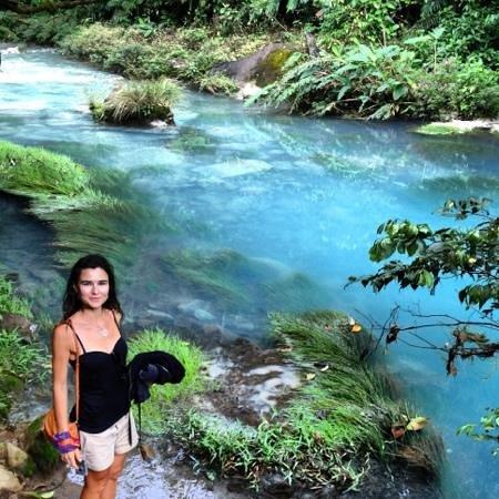 Rio Celeste:                   rio