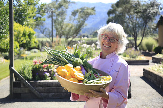 Chef Cindy Pawlcyn, Napa Valley