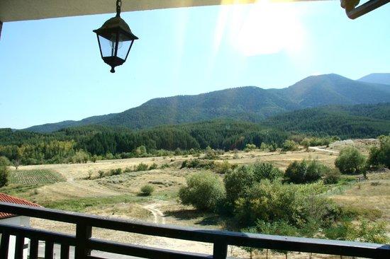 All Seasons Club: Pirin mountain is raising towards the right