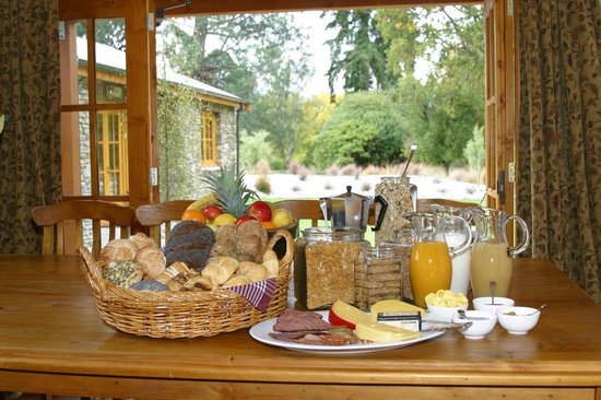 Wanaka Homestead Lodge and Cottages: Lodge Dining