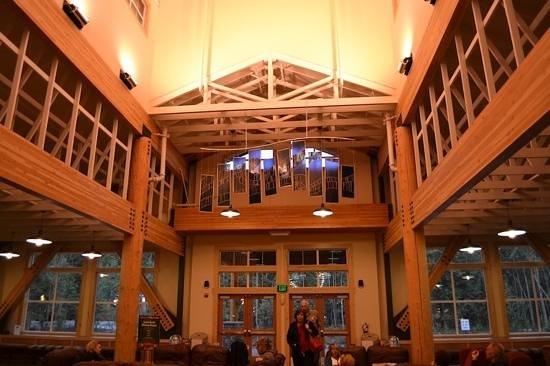 Denali Park Village:                   Lobby