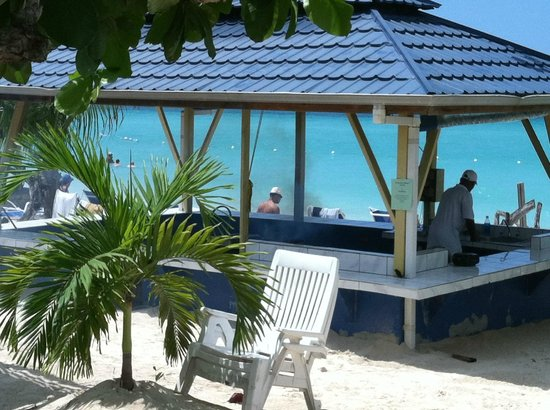 Negril Tree House Resort:                   Tree House Outdoor Kitchen/Grill