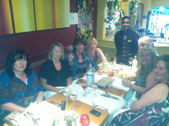 Bengal Brasserie:                   girls night out with Angus