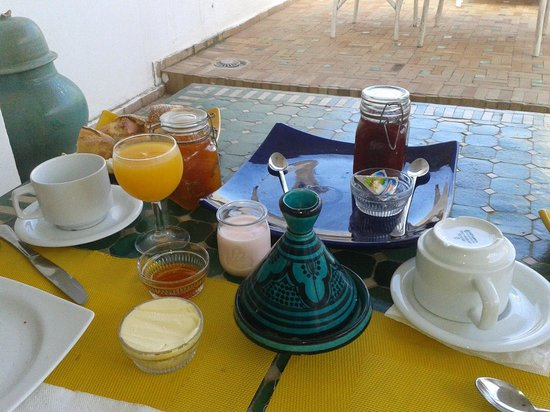 Dar Assalama: breakfast