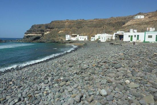 La spiaggia di Los Molinos davanti a Casa Pon