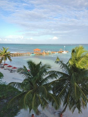 Grand Caribe Belize Resort and Condominiums:                   view from condo