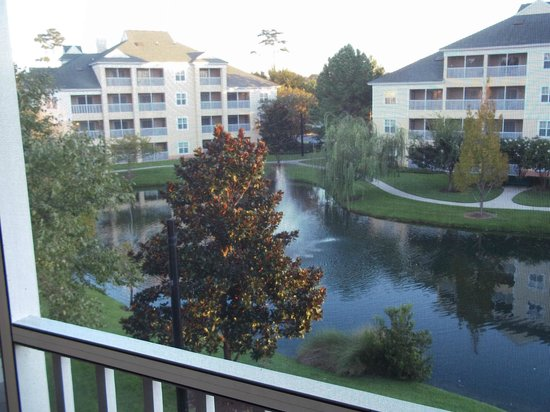 Sheraton Broadway Plantation Resort Villas:                   view from balcony