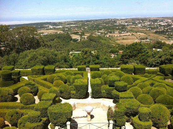 Tivoli Palacio de Seteais:                   Utsikten från rummet