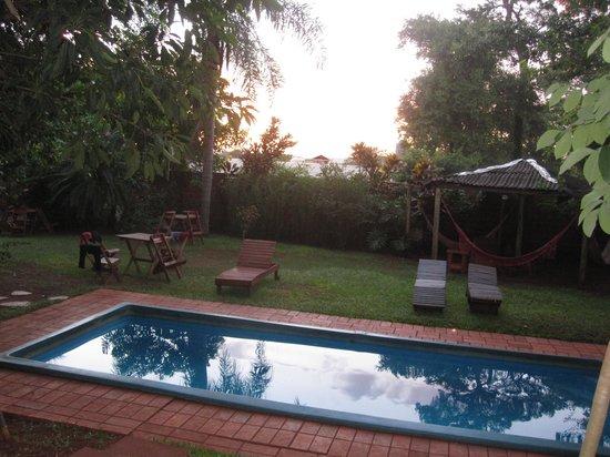 Pop Hostel Natura:                   The garden...