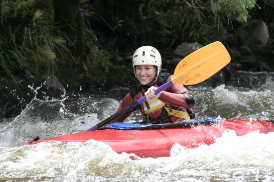 Gloucester, Australië: White water adventure with Barrington Outdoor Adventure Centre