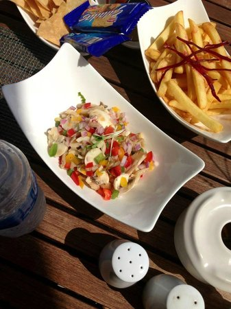 Blue Diamond Luxury Boutique Hotel: Lunch at Ceviche
