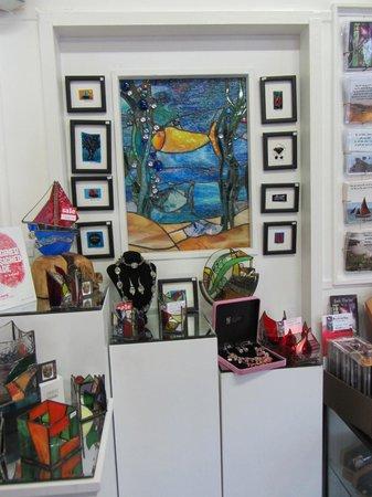 Spiddal Craft & Design Studios: Glass Art Studio at the Ceardlann