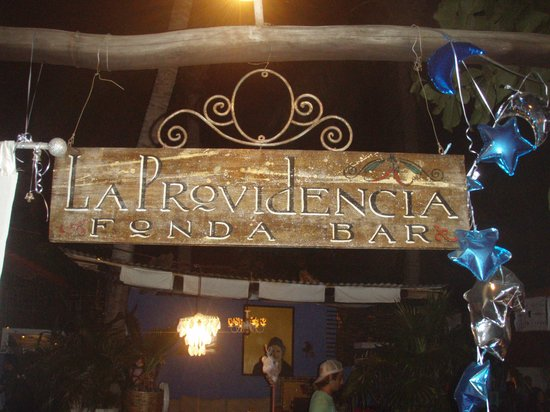 La Providencia:                   what a welcome
