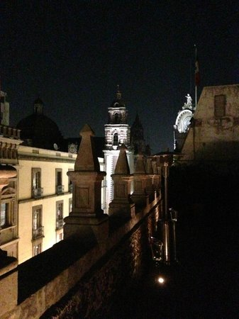 Hotel Downtown Mexico:                   Roof top