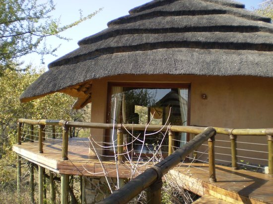 Tuningi Safari Lodge:                   Suite and Deck