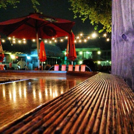 Bentley's Boutique Hotel, BW Premier Collection:                   The tiki bar at night- we loved it!