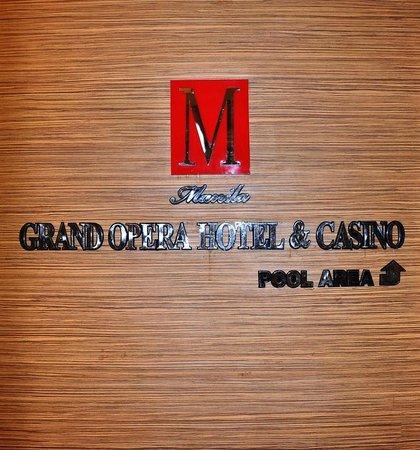 โรงแรมมะนิลา แกรนด์ โอเปอรา:                   Signage