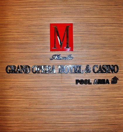 Manila Grand Opera Hotel:                   Signage